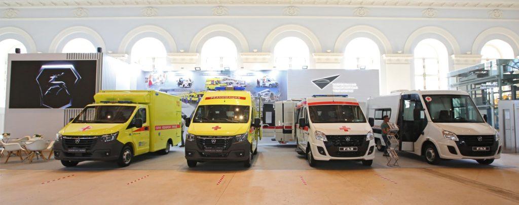 Медицинские автомобили ГАЗ