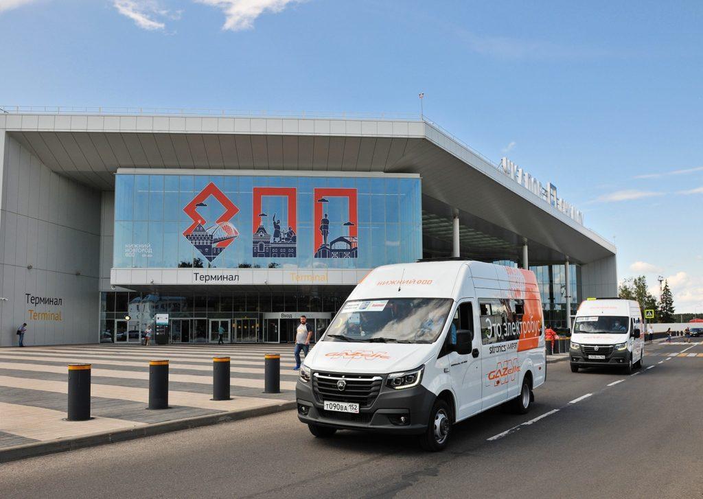 Электрические GAZelle e-NN в аэропорту Стригино_2